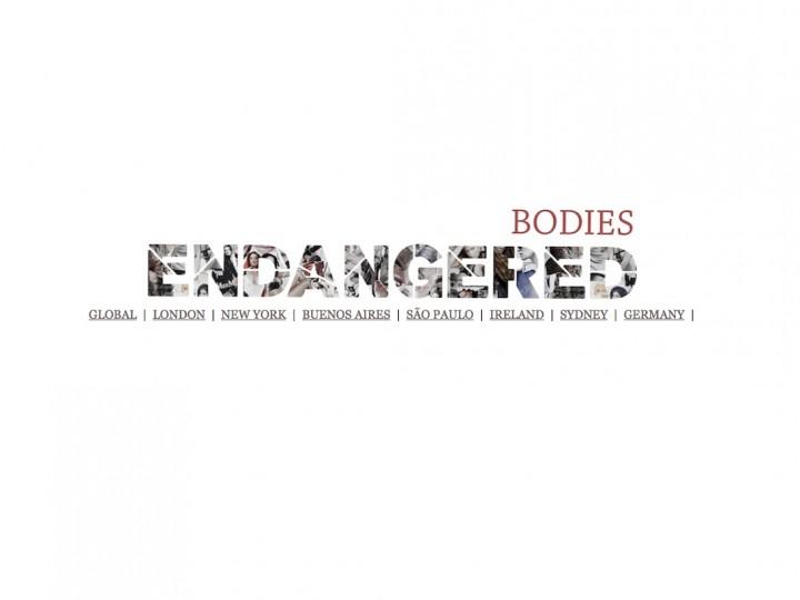 Cuerpos en peligro de extinción